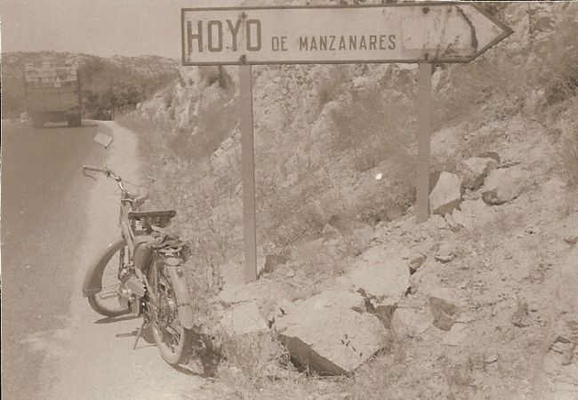 Antiguo desvío a Hoyo de Manzanares